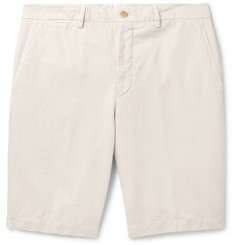 Ermenegildo Zegna Cotton and Linen-Blend Shorts