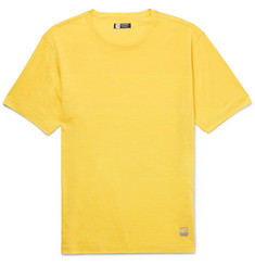 Z Zegna TECHMERINO Wool and Linen-Blend T-Shirt
