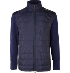 RLX Ralph Lauren Stretch-Wool and Quilted Shell Jacket
