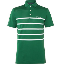 RLX Ralph Lauren - Striped Stretch Tech-Piqué Polo Shirt