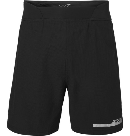 2Xu Pace Compression Mesh Shorts In Black