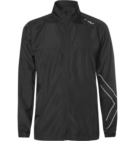 2Xu X-Vent Vaporise Esh-Panelled Shell Jacket - Black