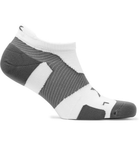 2Xu Vectr Cushioned No-Show Socks In White
