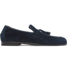 Harrys of London Adrian Suede Tasselled Loafers