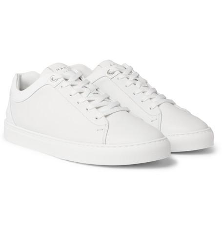 Tom Leather Sneakers by Harrys Of London