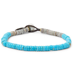Mikia Turquoise and Shell Bracelet