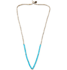 Mikia Turquoise and Shell Necklace