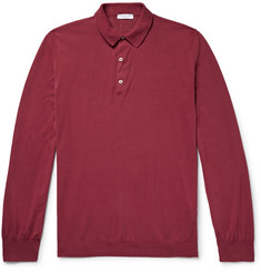 Boglioli Slim-Fit Cotton Polo Shirt