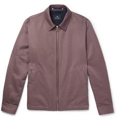 PS by Paul Smith Cotton and Linen-Blend Blouson Jacket