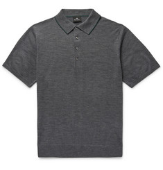 PS by Paul Smith Slim-Fit Contrast-Tipped Merino Wool Polo Shirt