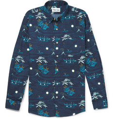 Thorsun Conversational Printed Cotton Shirt