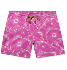 Thorsun - Titan Slim-Fit Short-Length Printed Swim Shorts