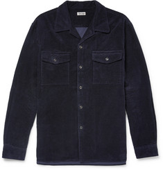 Camoshita Cotton-Corduroy Overshirt