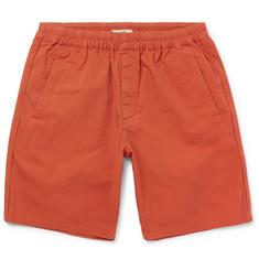 Folk - Garment-Dyed Cotton-Ripstop Drawstring Shorts