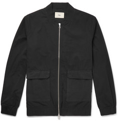 Folk Cotton-Twill Bomber Jacket