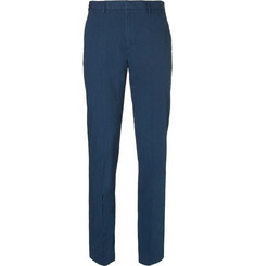 Folk - Counter Slim-Fit Tapered Stretch-Cotton Suit Trousers