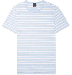 Hugo Boss Tessler Slim-Fit Striped Cotton-Jersey T-Shirt