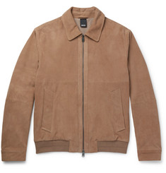 Hugo Boss - Avalon Suede Bomber Jacket