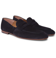 Hugo Boss - Safari Suede Penny Loafers