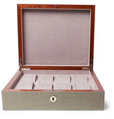 Rapport London Heritage Walnut Wood Watch Case