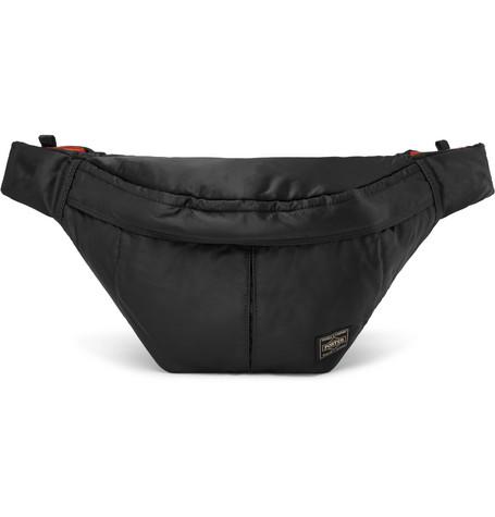 Porter-Yoshida   Co Tanker Shell Belt Bag In Black  89552c19a942d