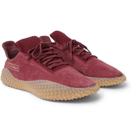 Kamanda Suede Sneakers - Burgundy