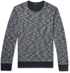 Club Monaco Slim-Fit Space-Dyed Cotton Sweatshirt