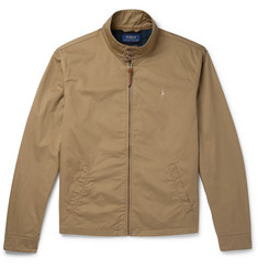 Polo Ralph Lauren Cotton-Twill Blouson Jacket