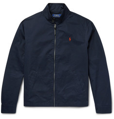 Polo Ralph Lauren Barracuta Slim-Fit Cotton-Twill Blouson Jacket