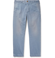 Polo Ralph Lauren Slim-Fit Tapered Washed Cotton-Twill Chinos
