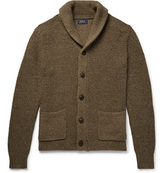 Polo Ralph Lauren Shawl-Collar Cotton and Linen-Blend Cardigan