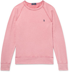 Polo Ralph Lauren Washed Loopback Cotton-Jersey Sweatshirt
