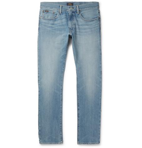 Ralph Lauren Andrews Slim-fit Stretch-denim Jeans - Blue ebay FOIawqSVGy