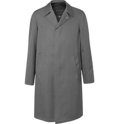Mackintosh 0002 Mélange Wool Raincoat