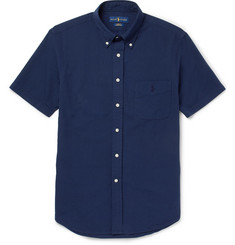 Polo Ralph Lauren - Slim-Fit Button-Down Collar Cotton-Seersucker Shirt