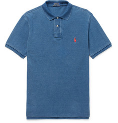 Polo Ralph Lauren Slim-Fit Washed Cotton-Piqué Polo Shirt