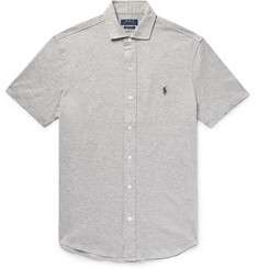 Polo Ralph Lauren - Mélange Cotton-Piqué Shirt