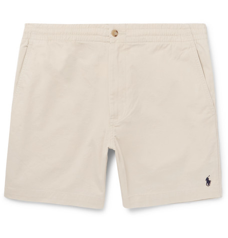 30f0a6616 Polo Ralph Lauren Prepster Stretch-Cotton Twill Shorts - Sand In Beige