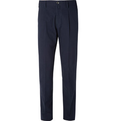 Lardini Cotton-Seersucker Trousers