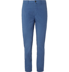 Lardini Paris Stretch-Cotton Poplin Trousers