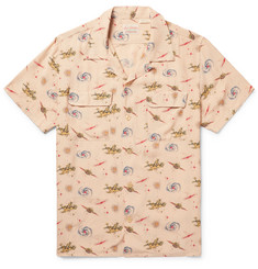 Levi's Vintage Clothing Camp-Collar Printed Matte-Satin Shirt