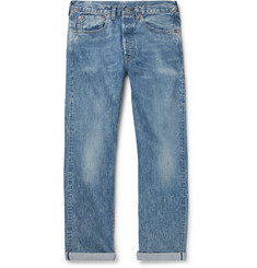 Levi's Vintage Clothing 1947 501 Distressed Selvedge Denim Jeans