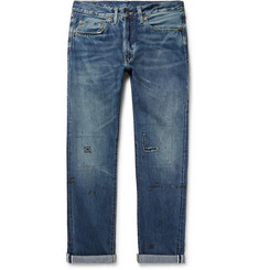 Levi's Vintage Clothing - 1954 501 Distressed Selvedge Denim Jeans
