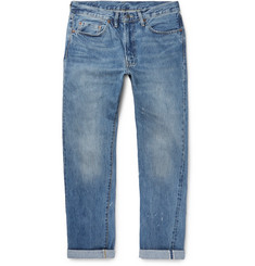 Levi's Vintage Clothing 1954 501 Distressed Selvedge Denim Jeans