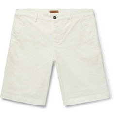 Barena Stretch-Cotton Twill Shorts