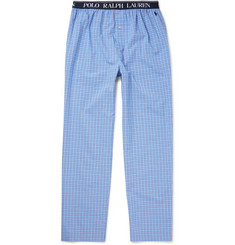 Polo Ralph Lauren Checked Cotton-Poplin Pyjama Trousers