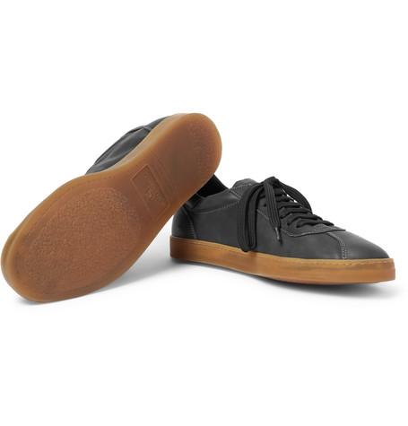 Karma Leather Sneakers - BlackOfficine Creative IEN3X