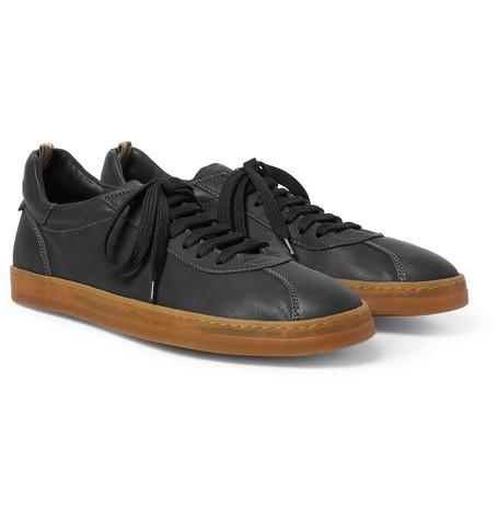 Karma Leather Sneakers - BlackOfficine Creative TEAb9xyxV