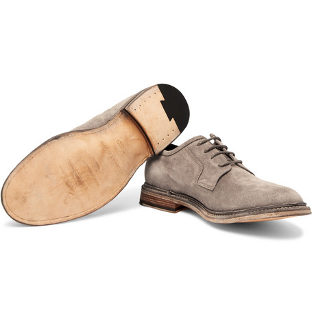 Durham Suede Derby Shoes - MushroomOfficine Creative GJEKpBbk8K