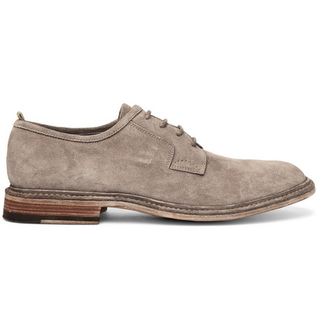 Durham Suede Derby Shoes - MushroomOfficine Creative Y4yYUkxWN